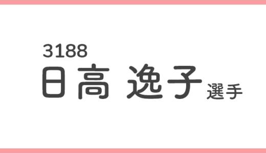 【競艇選手データ】日高逸子 選手/3188  特徴・傾向