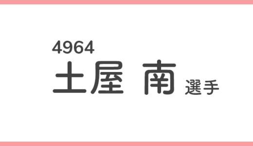 【競艇選手データ】土屋南 選手/ 4964 特徴・傾向