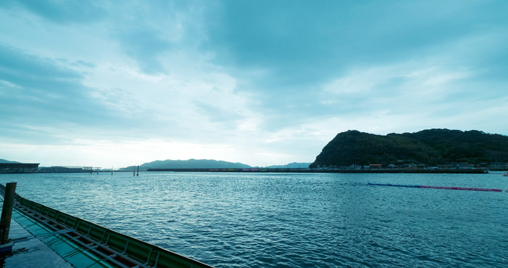 徳山競艇場 水面写真