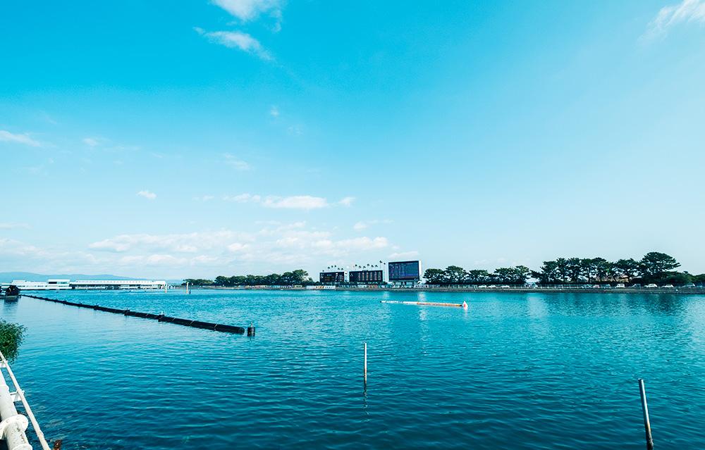 浜名湖競艇場水面1