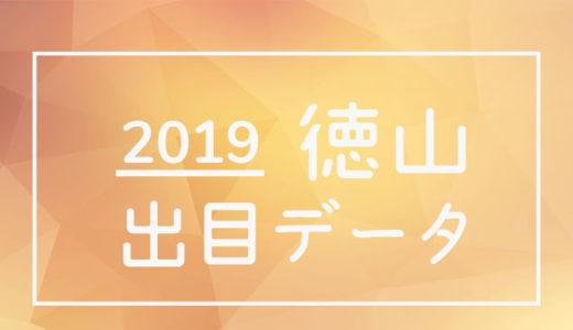 2019年ボートレース徳山競艇場:出目データ