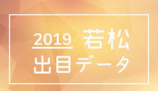 2019年ボートレース若松競艇場:出目データ