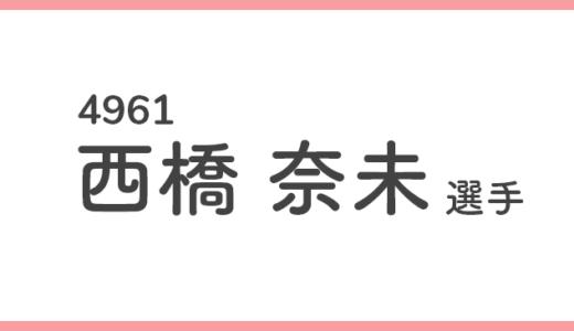 【競艇選手データ】西橋 奈未 選手/4961  特徴・傾向