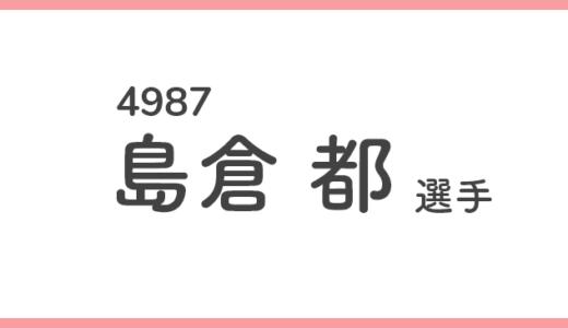 【競艇選手データ】島倉 都 選手/4987  特徴・傾向