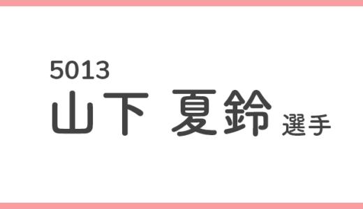【競艇選手データ】山下夏鈴 選手/5013  特徴・傾向