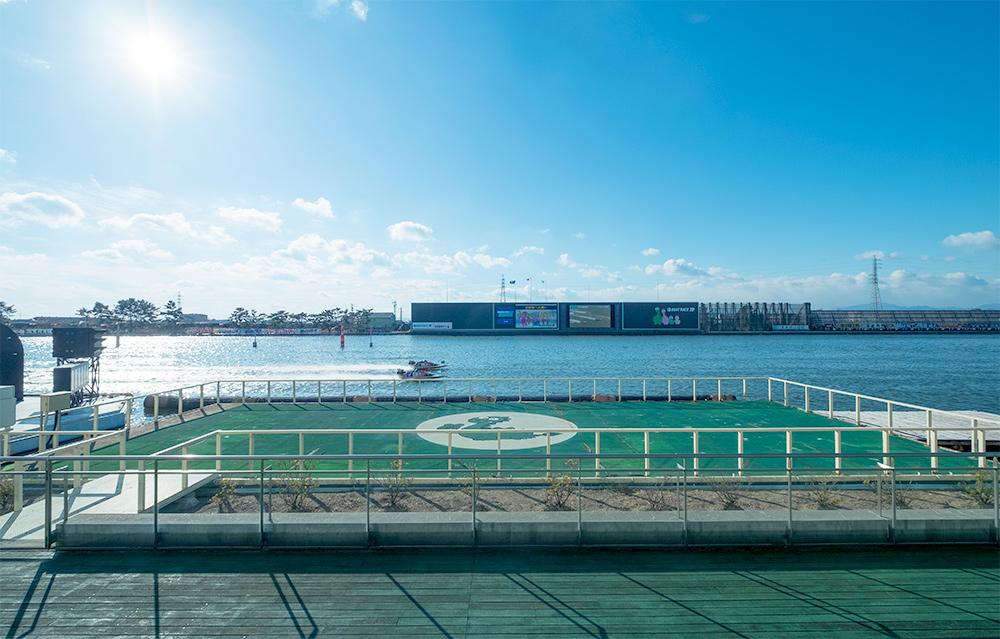 ボートレース津競艇場-水面
