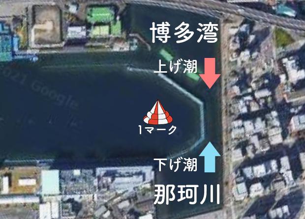 ボートレース福岡競艇場-うねり